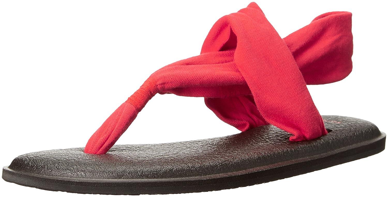 Sanuk Damen Yoga Sling 2 Prints Zehentrenner  | Um Zuerst Unter ähnlichen Produkten Rang