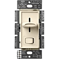 Lutron Skylark LED+ Dimmer Switch for Dimmable LED, Halogen and Incandescent Bulbs   Single-Pole or 3-Way   SCL-153P-AL…