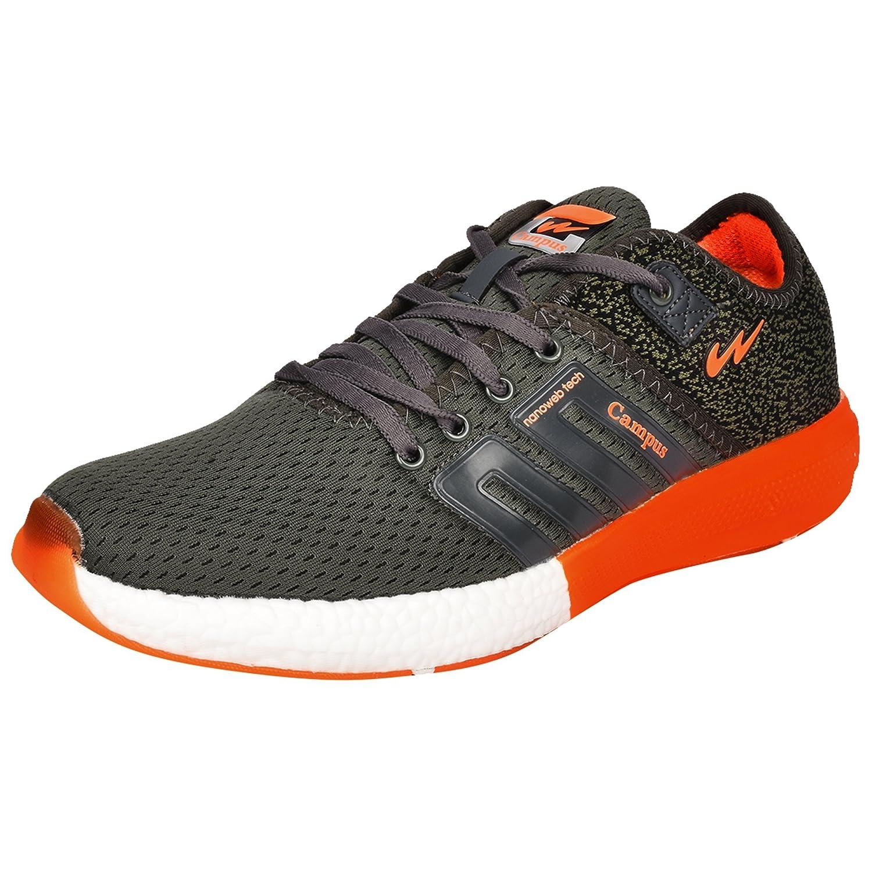 Grey \u0026 Orange Running Shoes