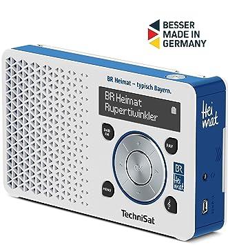 Ongebruikt TechniSat Digitradio 1 BR Heimat-Edition portables DAB Radio TH-78