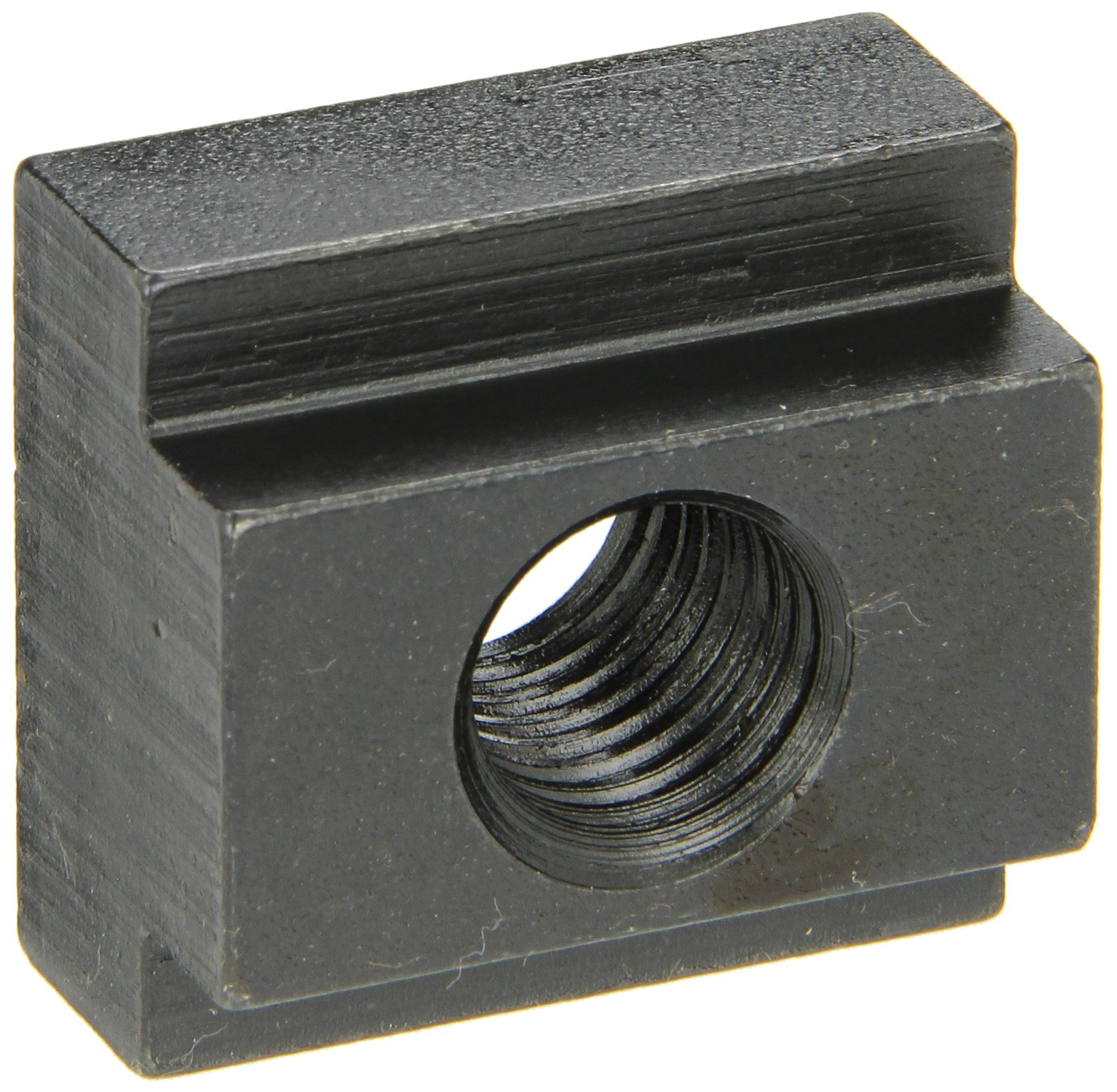 1018 Steel T-Slot Nut, Black Oxide Finish, Grade 10, 3/4''-10 Threads, 1'' Height, 1'' Slot Depth, Made in US (Pack of 2) by Small Parts
