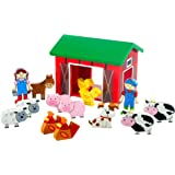 Orange Tree Toys Farmyard Playset