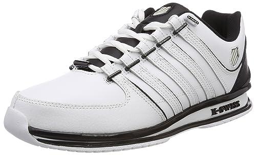 K-Swiss Rinzler SP, Zapatillas Para Hombre, Blanco (White/Ensign Blue/Camo), 39.5 EU