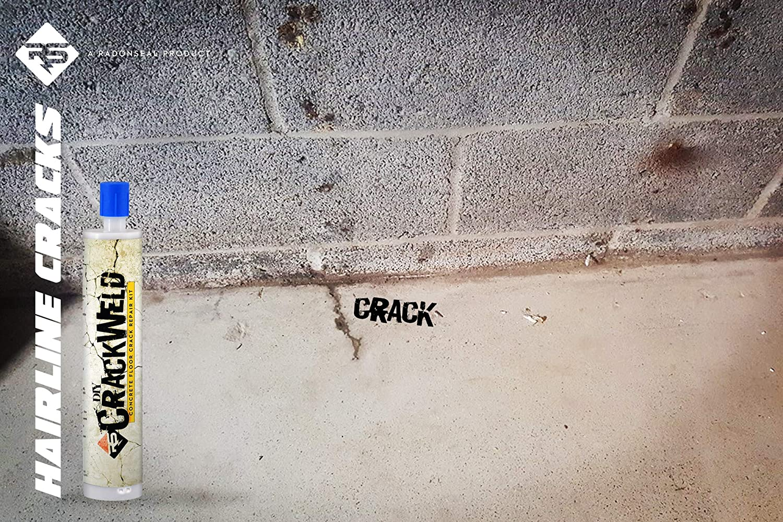 Amazon Com Crackweld Diy Concrete Floor Repair Kit 4 Pack