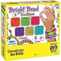 Creativity For Kids Bright Bead Boutique Kit – 800 + abalorio de Flores