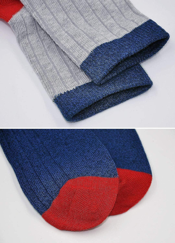 5 pairs 2-11 Years Toddler Boys Cotton Socks Kids Funky Multi Colour Casual Crew Socks Back to School Socks