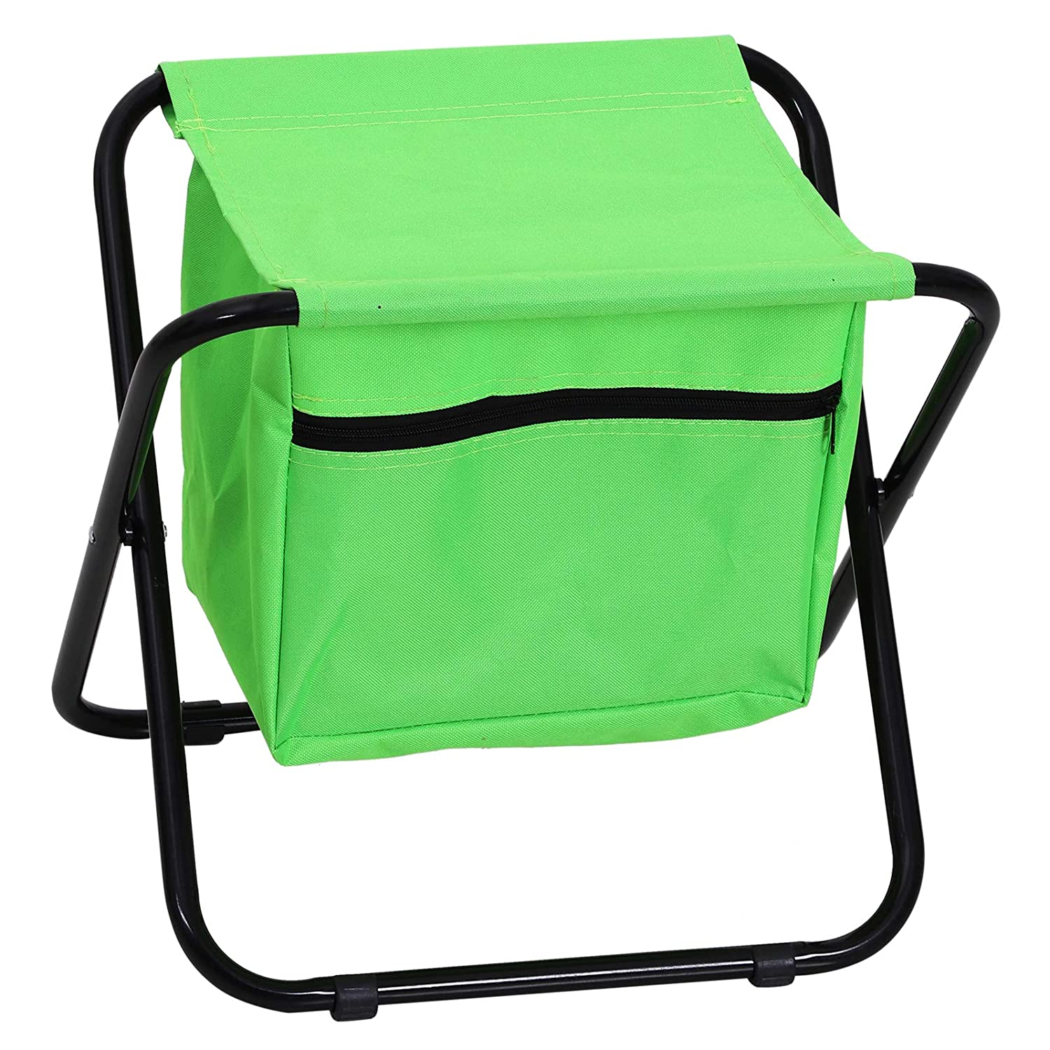 Outsunny Folding Garden Tool Stool Kit Storage Bags 3pc Tools Outdoor Lightweight Portable