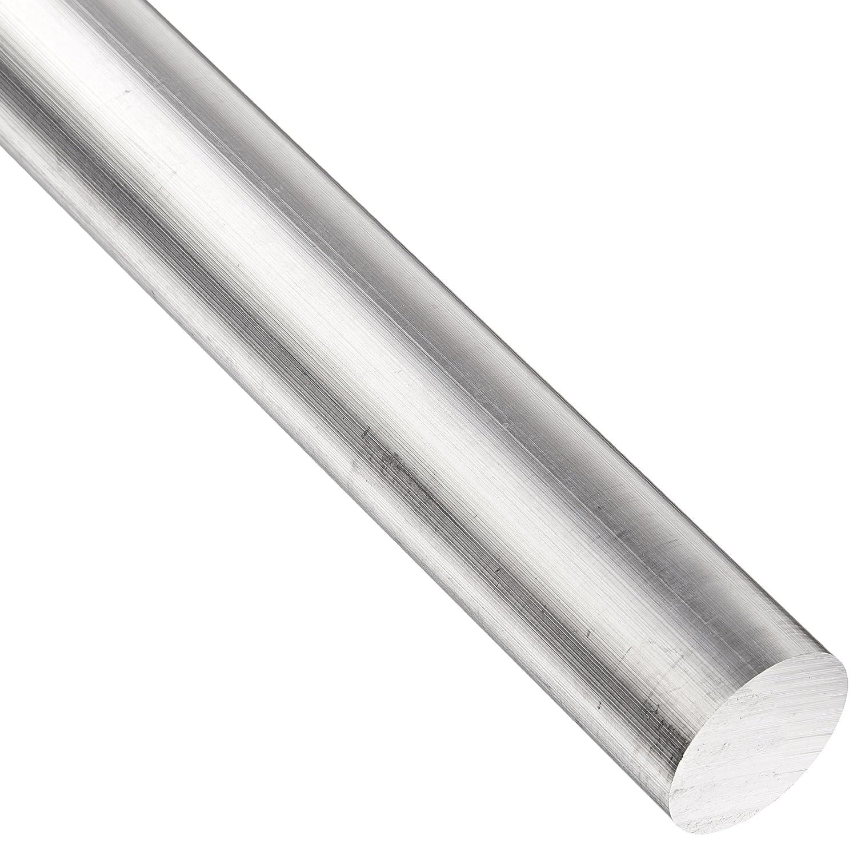 "2-1//2/"" Aluminum Round Bar Rod 24/"" long 6061-T6 Mill Finish"