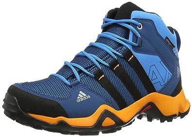 adidas Performance AX2 MID CP K Q22095 Jungen Outdoor Fitnessschuhe, Blau  (Solar Blue2 S14 edab87c5fd
