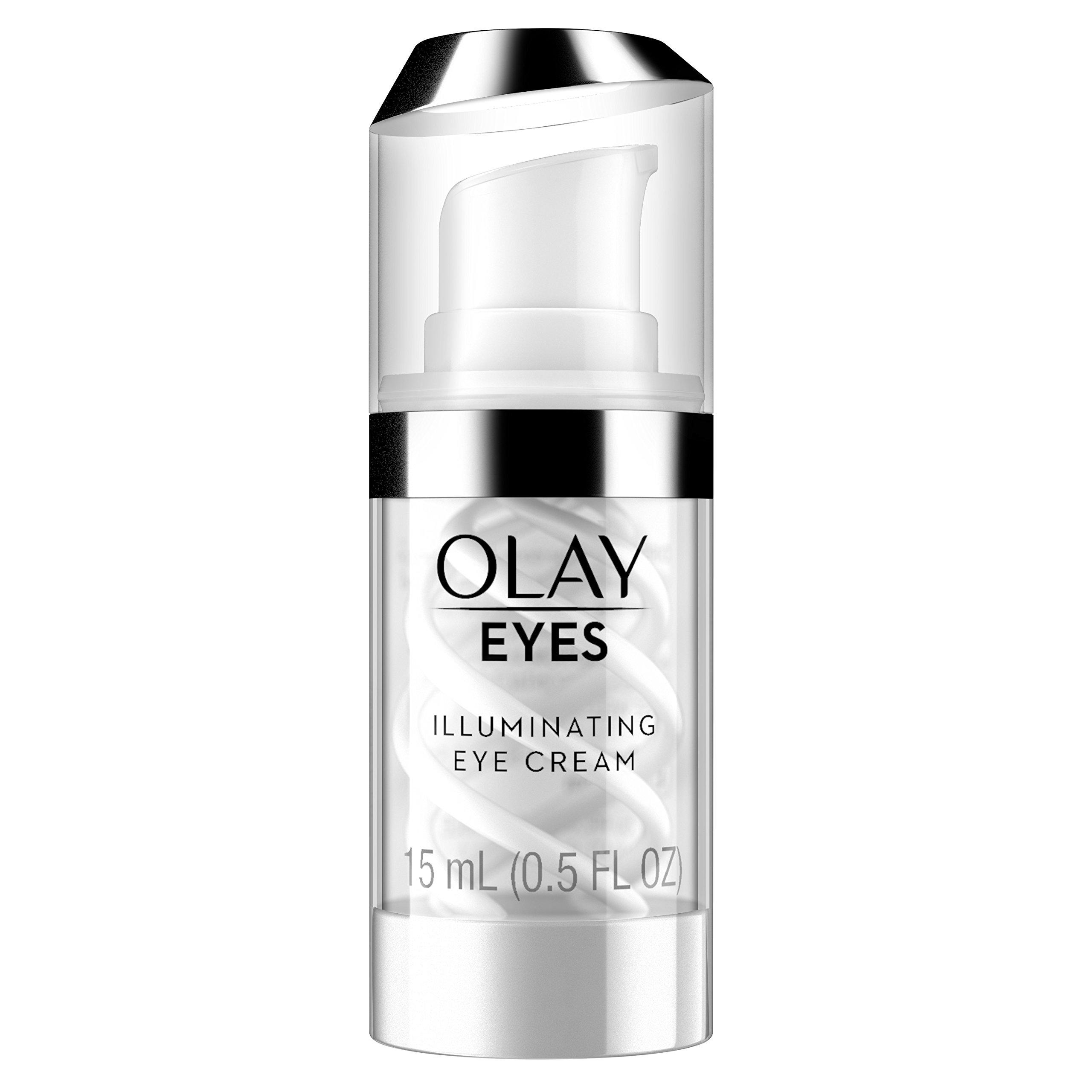 Eye Cream by Olay Eyes Illuminating to Help Reduce the look of Dark Circles Under Eyes, 0.5 Fl Oz Packaging may Vary