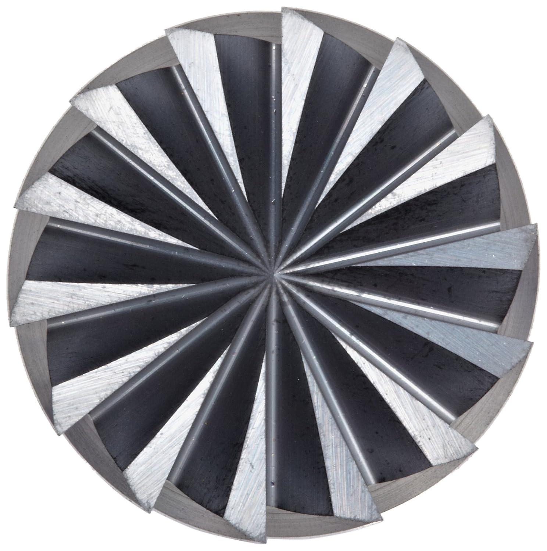 4 Flutes 16mm Cutting Diameter Metric 115mm Overall Length Roughing Cut Sandvik Coromant R216.24 Carbide Corner Radius End Mill 1mm Corner Radius 69826236121 TiAlN Monolayer Finish 16mm Shank Diameter 50 Deg Helix