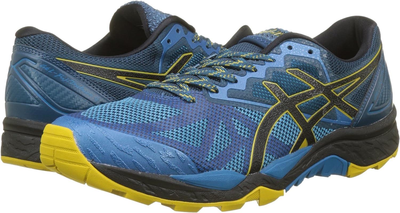 Asics Gel-Fujitrabuco 6, Zapatillas de Running para Asfalto para Hombre, Azul (Turkish Tile/Black/Lemon Curry 4690), 49 EU: Amazon.es: Zapatos y complementos