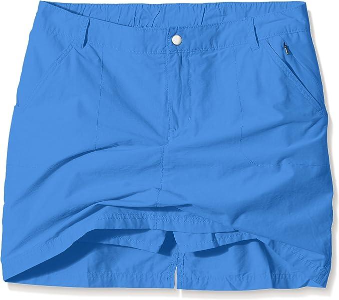 Columbia Arch Cape III Falda - pantalón para mujeres, color Azul ...