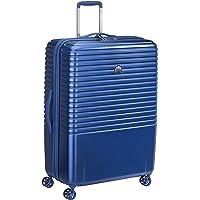 Delsey Paris Caumartin Plus 76 cm 4 Double Wheels Trolley Case Suitcase (Hardside) Blue (00207882102)