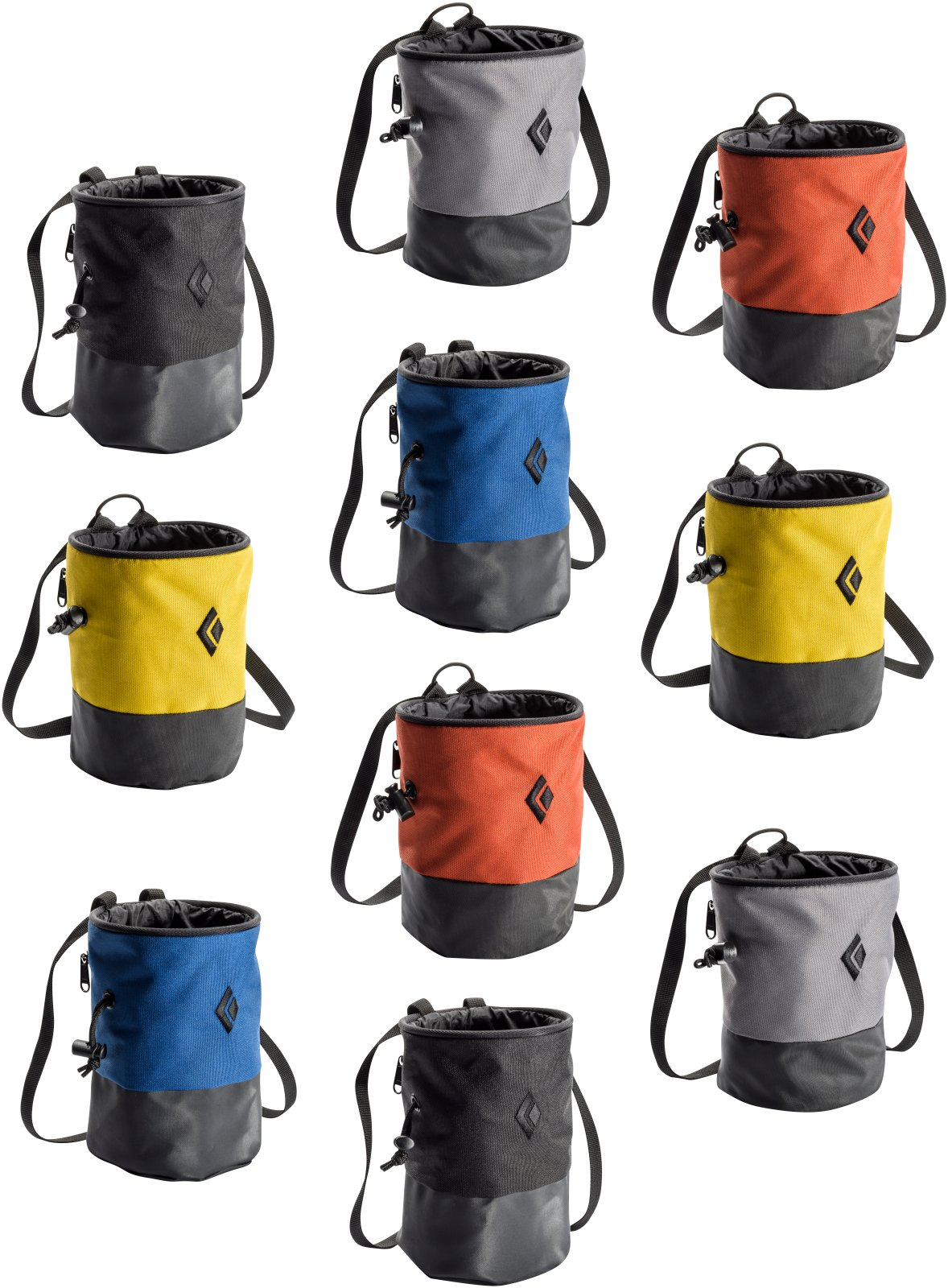 Black Diamond Mojo Zip Chalk Bag - 10 pack