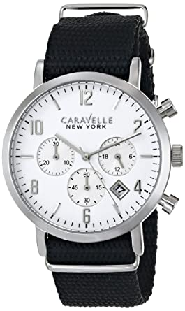 69f42003005 Image Unavailable. Image not available for. Color  Caravelle New York by Bulova  Men s 43B137 Analog Display Japanese ...