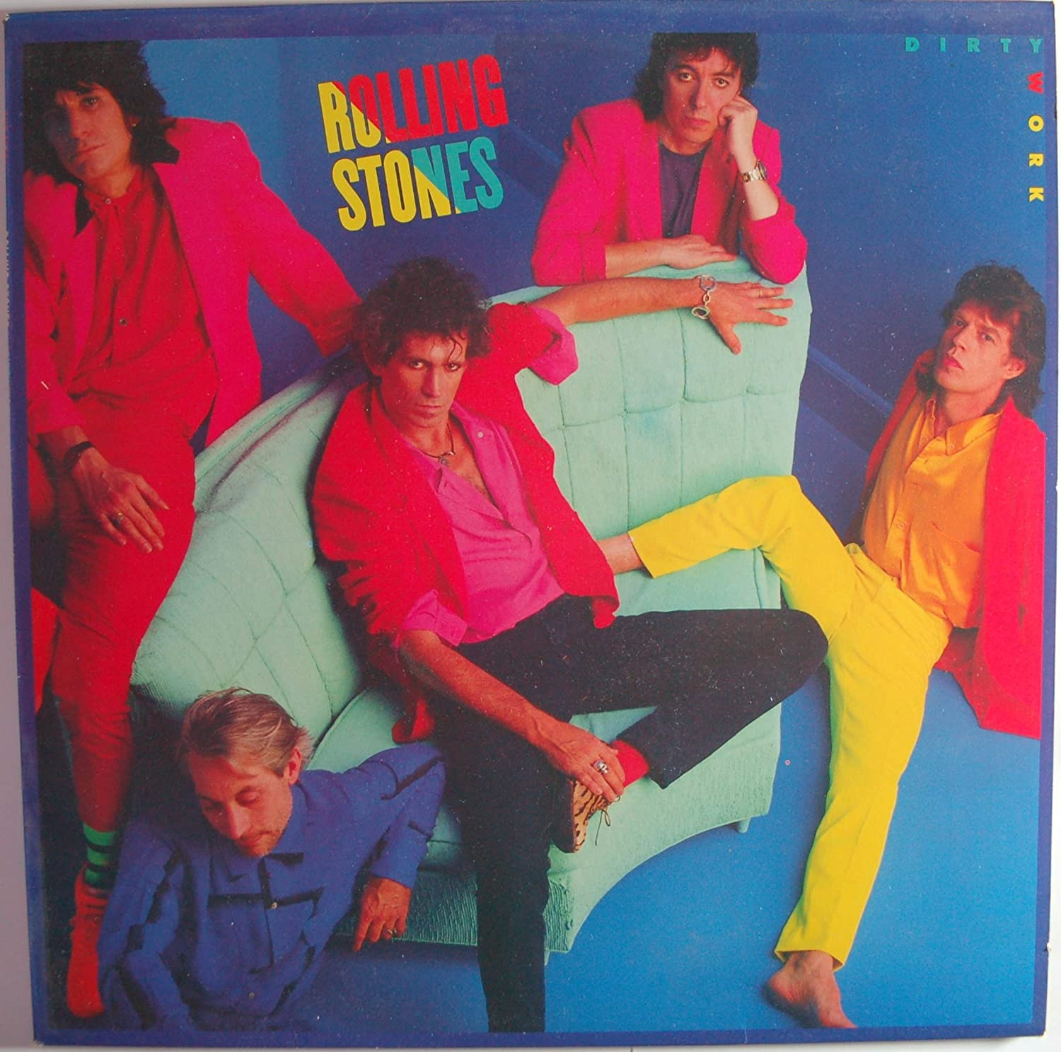Rolling Stones, The - Dirty Work - Rolling Stones Records - CBS 86321, CBS - CBS 86321