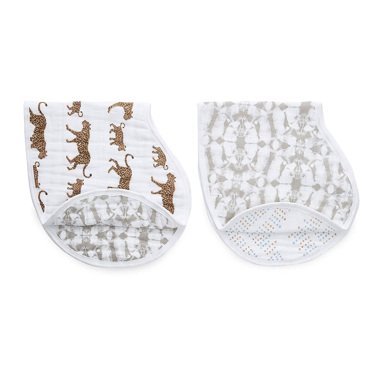 Picked for You 2 Pack Super Soft /& Absorbent Burp Rag for Infants aden 4 Layer Multi Use Burping Cloth 100/% Viscose Bamboo Muslin Newborns and Toddlers anais Burpy Baby Bib