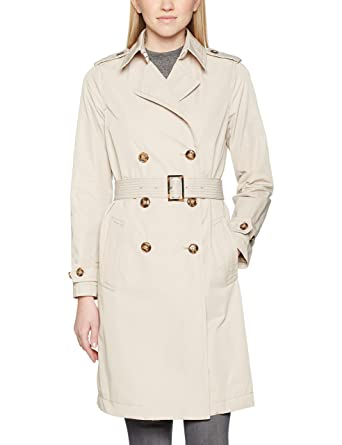 e0b17b4ac9b4 United Colors of Benetton Damen Mantel Trench Coat with Belt  Amazon.de   Bekleidung