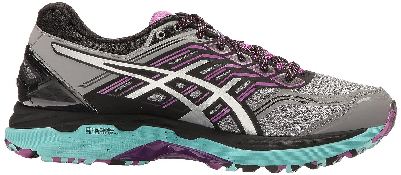 ASICS Women's GT-2000 5 Trail Runner B01GUAKVVG 10 B(M) US|Aluminum/Silver/Orchid