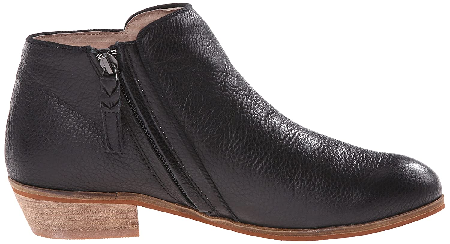 SoftWalk Women's Rocklin Chelsea Boot B00HQNH88Q 6 Leather C/D US|Black Veg Tumbled Leather 6 27202b