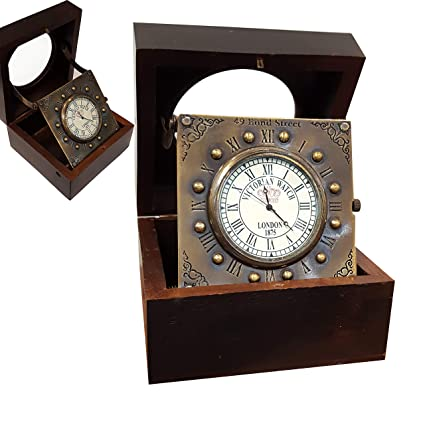 Amazoncom Collectibles Buy Vintage Titanic Wooden Clock Marine