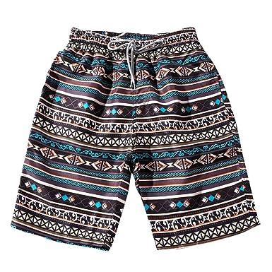 URSING Sommer Paare Freizeit Shorts Strand-Shorts Bikinihose Herren Damen Bohe Schwimmshorts Swimwear Beachshort Sommershorts
