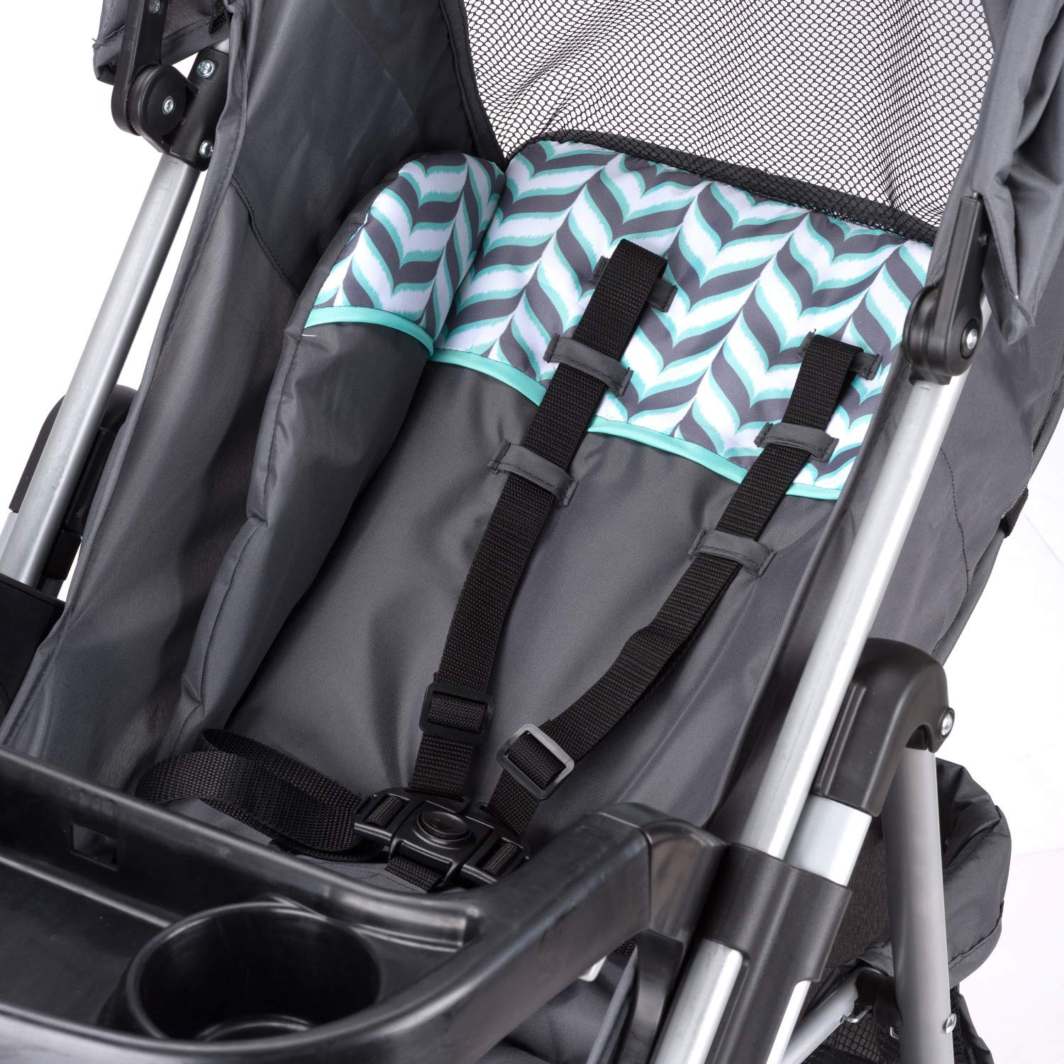 Evenflo Vive Travel System with Embrace Infant Car Seat, Spearmint Spree by Evenflo (Image #8)