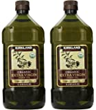 Kirkland Signature Organic Extra Virgin Olive Oil, 2L (2 Pack)