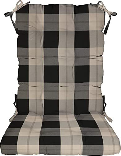 RSH D cor Indoor Outdoor Tufted Rocker Rocking Chair Pad Cushion