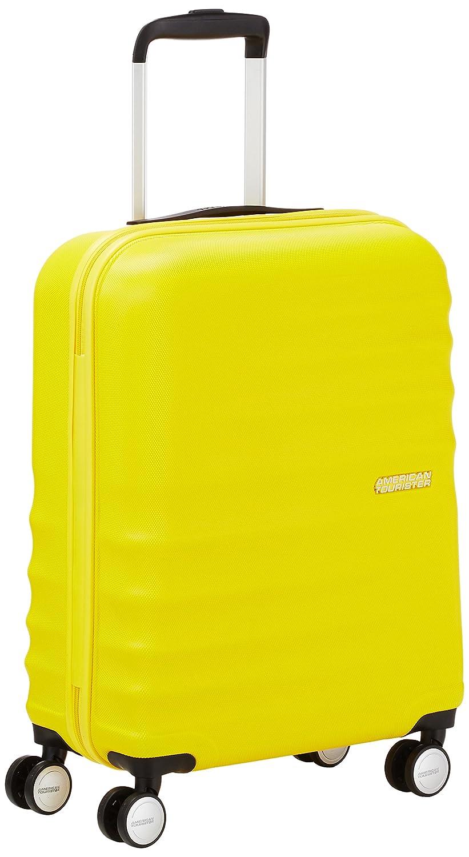 American Tourister WaveBreaker Spinner  Equipaje de Mano Litros Color Amarillo