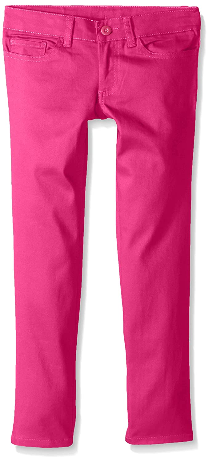 French Toast Girls' Skinny Zip Back Pant - Ankle Length LK9488