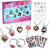 Kids Jewelry Making Kit for Girls - Arts and Crafts Supplies Pendant Necklace and Bracelet Crafting Gift Set for Girls…