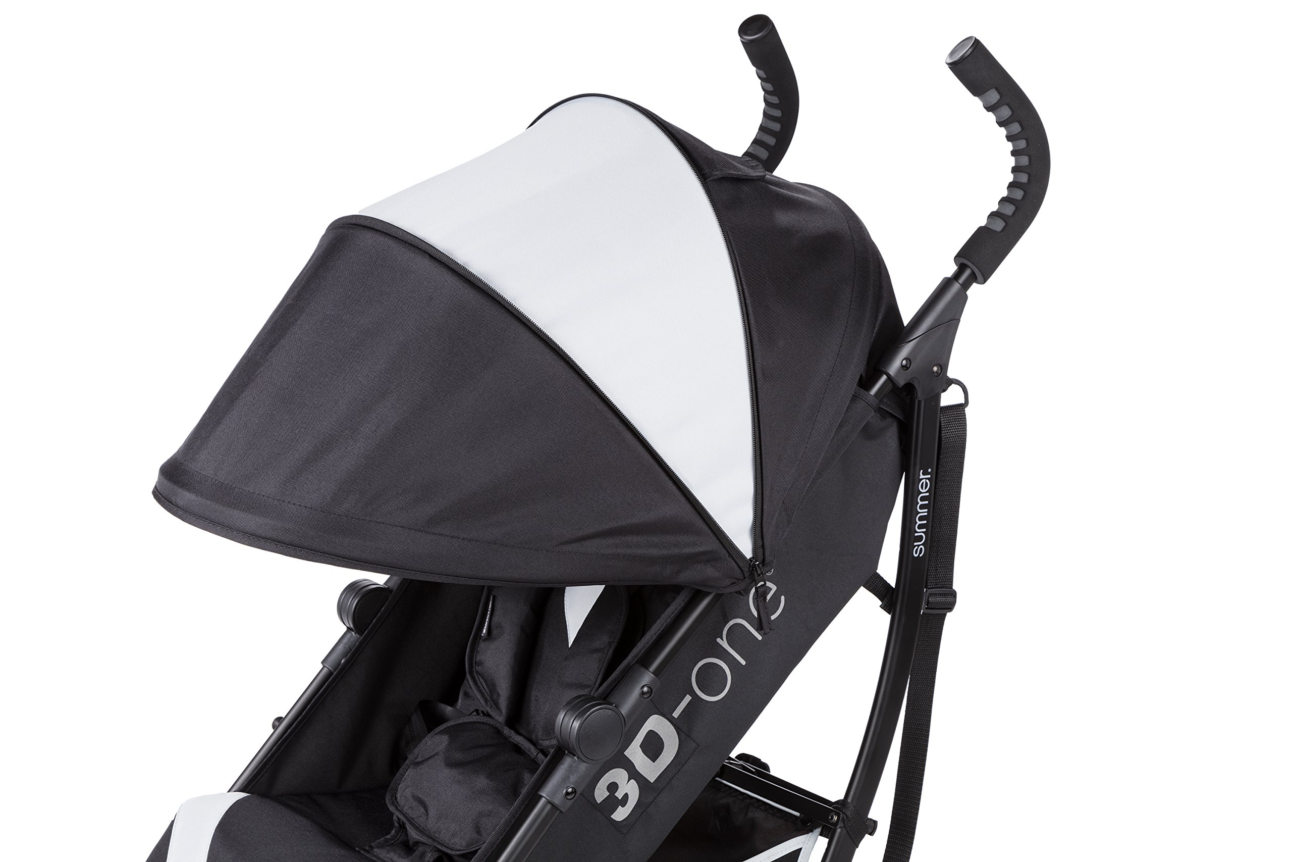 Summer Infant 3D-one Convenience Stroller, Eclipse Gray by Summer Infant (Image #7)