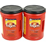 Folgers Classic (Medium) Roast Ground Coffee 48oz, 2 Pack