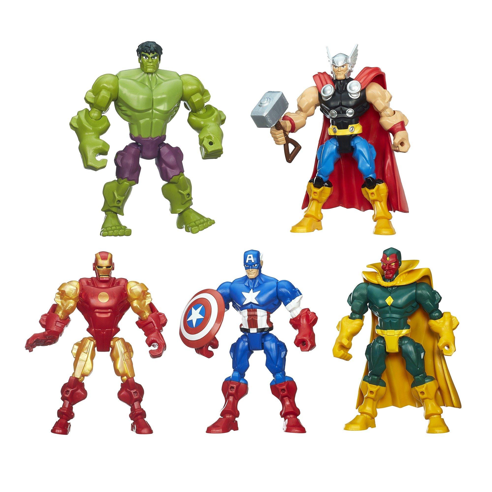 Details about Marvel Super Hero Mashers Avengers Mash Pack 58518dbb6e