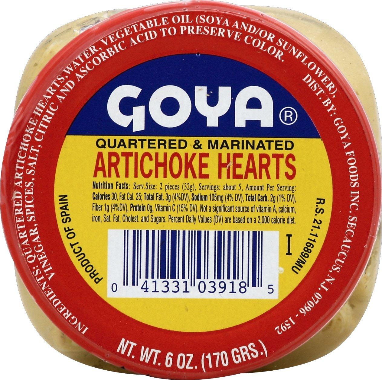 Goya Artichoke Marin Olive Oil, 6-Ounce Units (Pack of 12)
