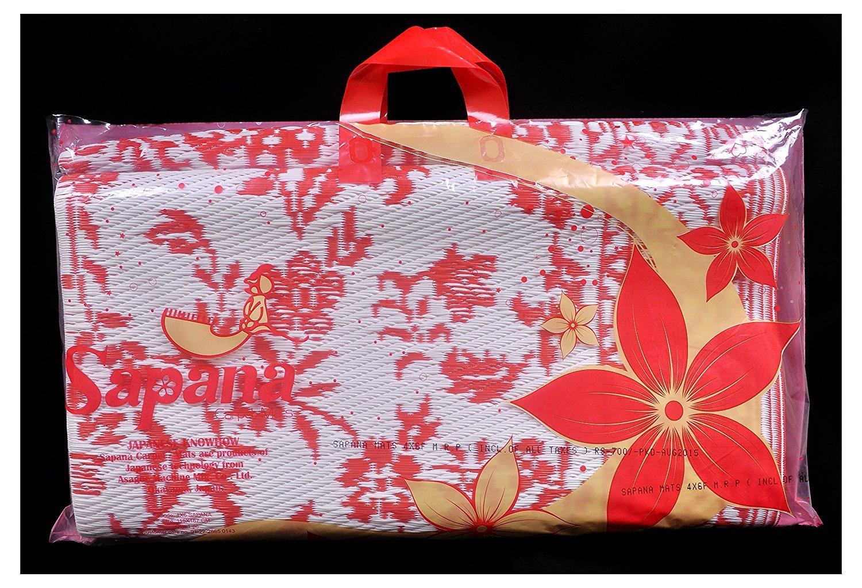 Sale Blu Di Persia Wikipedia : Buy sapana mats persia plastic floor mat chatai 6x6ft large red