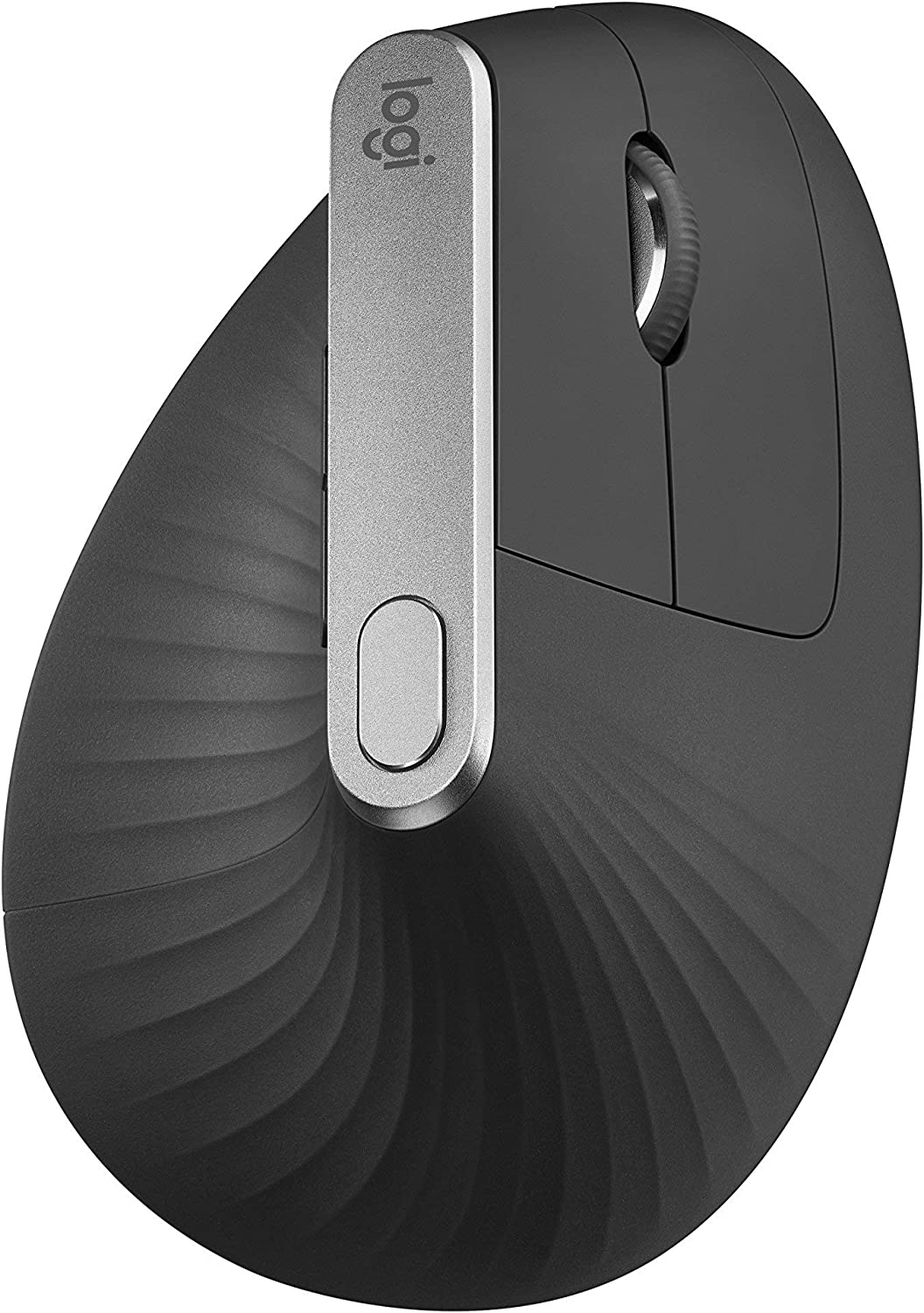 Logitech MX Vertical Advanced Ergonomic Mouse, Wireless via Bluetooth or Included USB Receiver (Renewed)