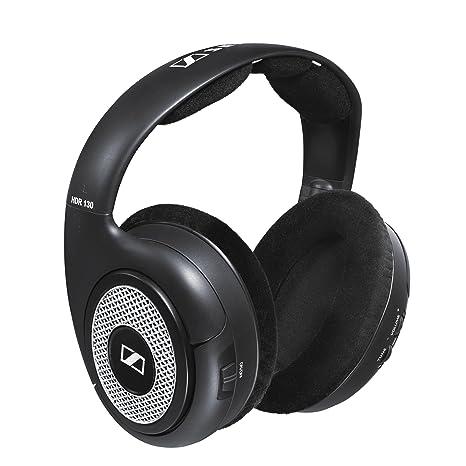 Sennheiser RS 130 Negro, Plata Supraaural auricular: Amazon.es: Electrónica