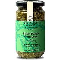 Delicious & Sons Salsa Pesto Genovese Ecológica 190g