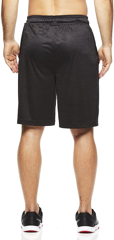Reebok Men's Drawstring Shorts - Athletic Running & Workout Short w/ Pockets: Clothing