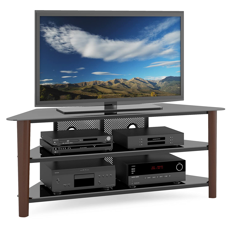"CorLiving TAL-694-T Alturas Veneer TV Stand, 60"", Wood, Dark Espresso"
