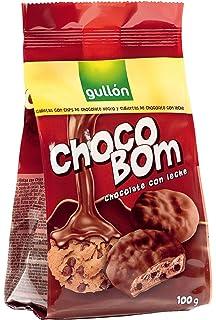Chocobom gullón galletas chocobom leche gullón paquete 100g