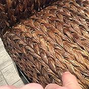 Amazon Com Birdrock Home Bird Rock Seagrass Counter Stool
