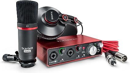 carte son externe scarlett 2i2 Amazon.com: Focusrite Scarlett 2i2 Studio (2nd Gen) USB Audio