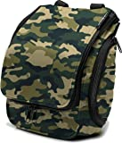 Compact Hanging Toiletry Bag, Personal Organizer for Men & Women   Rugged & Water Resistant with Mesh Pockets & Sturdy Hook for Business or Leisure Travel