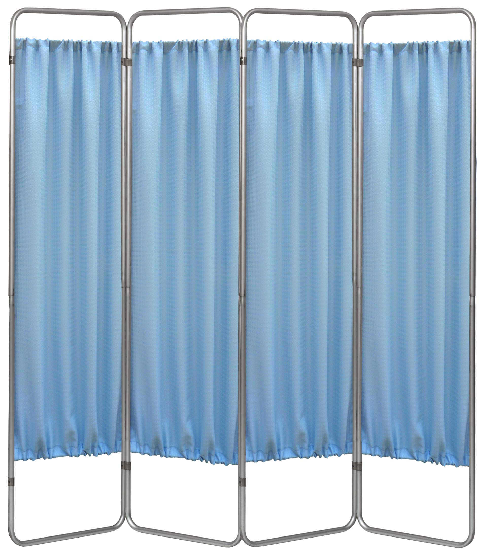Omnimed 153094-PO 4 Panel Medical Privacy Screen with Powder Panels