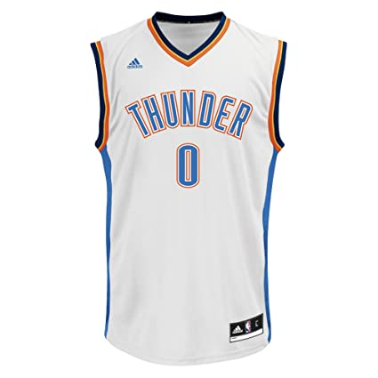 e3140f63bfe8 NBA Men s Oklahoma City Thunder Russell Westbrook Replica Player Jersey
