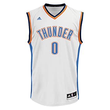 a5c01ca8a NBA Oklahoma City Thunder Russell Westbrook  0 Men s Home Replica Jersey